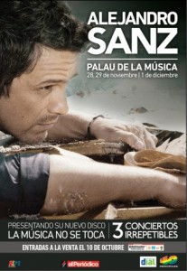 Alejandro Sanz - La música no se toca - Palau de la Música